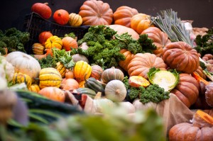 Photo of seasonal vegetables