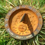 Photo of a sundial