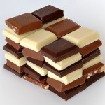 Photo of pieces of chocolate