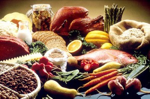 Photo of a variety of healthy foods