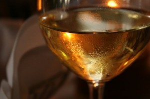 Photo of a glass of wine