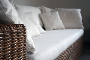 Photo of a sofa