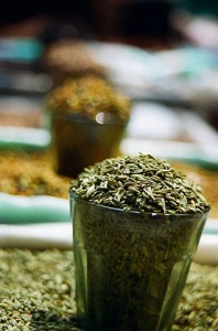 Photo of fennel seeds