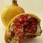 Photo of a pomegranate