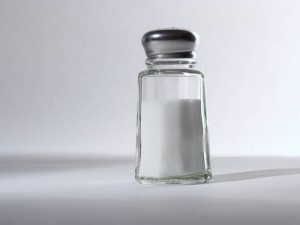 Photo of a salt shaker