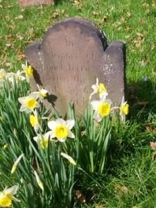 Photo of a gravestone