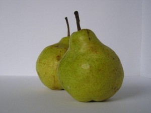 Photo of two pears