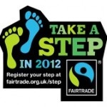 Fairtrade Take a Step 2012 logo