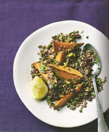 Photo of spiced sweet potato and couscous