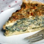 Photo of nettle and ricotta pie