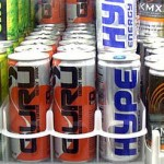 Photo of energy drinks