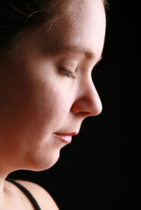 Photo of a woman under hypnosis