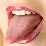 Photo of tongue tip