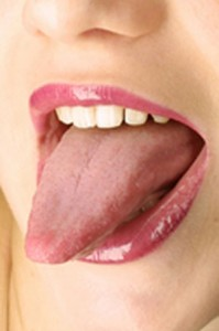 Photo of tongue tip