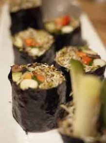 Photo of nori rolls