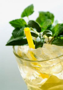 Photo of iced mint tea