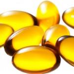 Photo of vitamin E capsules