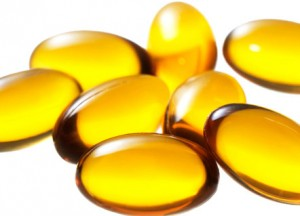 Photo of vitamin E capsules