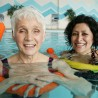 Photo of swimming senior citizens