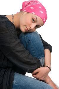 Photo of a breast cancer survivor