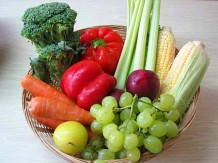 Photo of a bowl of fresh produce