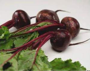 Photo of beets and beet greens