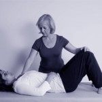 Photo of a woman learning Alexander Technique