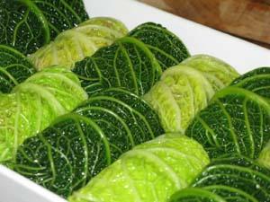 Photo of stuffed cabbage