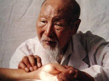 Photo of traditional Chinese practitioner
