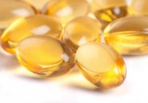 Photo of vitamin D capsules