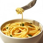 Photo of a bowl of pasta
