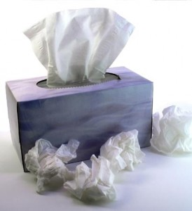 Photo of a box of tissues