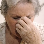 Photo of an elderly woman