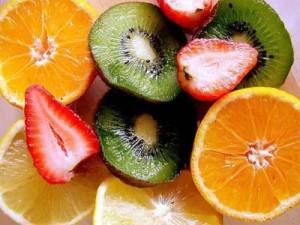 Photo of carotenoid-rich fruits