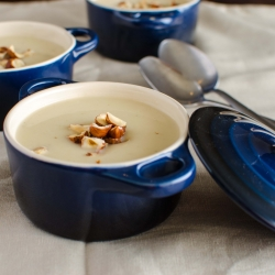 Jerusalem Artichoke And Sweet Chestnut Soup