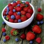 Photo of berries in a bowl