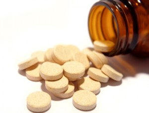 Photo of vitamin C tablets