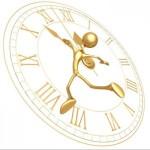 Illustration of a body clock