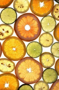 Photo of citrus fruit slices