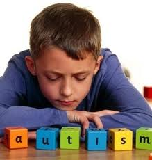 Photo of a boy thinking about autism