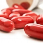 Photo of coenzyme Q10 capsules
