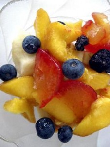 Photo of a fruit salad