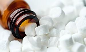 Photo of tissue salt tablets