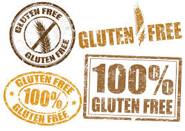 Illustration of gluten-free claims on food