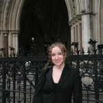 Georgina Downs at the UK High Court in 2008
