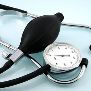 Photo of a blood pressure cuff