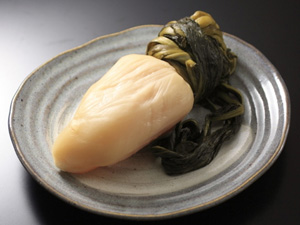 Photo of suguki, a kind of pickled turnip