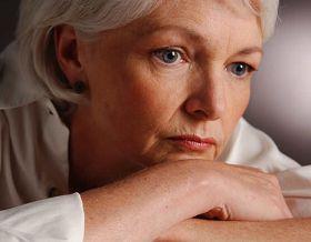 Photo of a menopausal woman