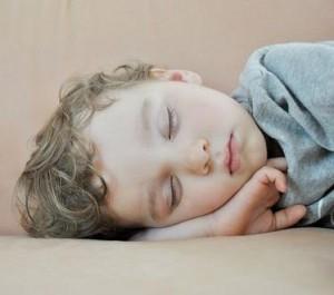 photo of a sleeping child
