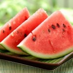 Photo of watermelon slices